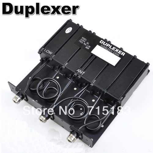 Repeater Duplexer:30W N-connector VHF 6 Cavity Duplexer SGQ-150(China (Mainland))