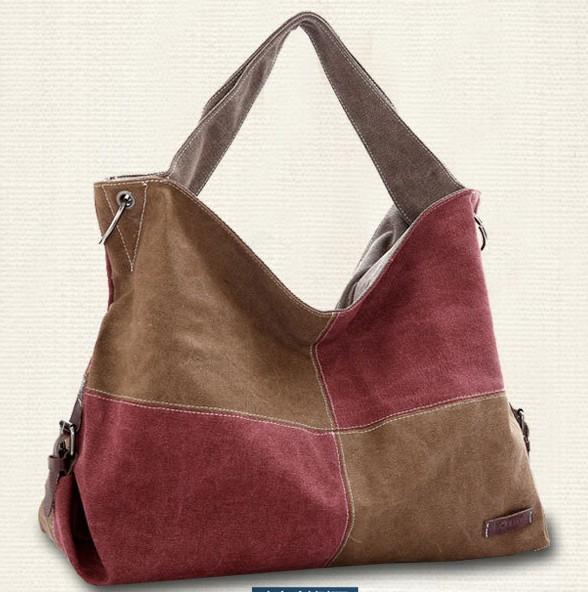 2016 new women casual satchel shoulder messenger bag female cross-body square mosaic canvas handbags