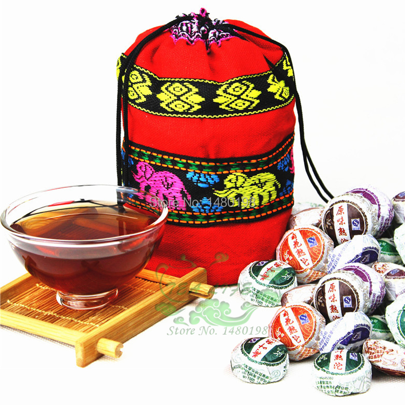 10 Kinds Flavor Pu er Pu erh Tea Chinese Mini Yunnan Puer Tea Buy Direct from