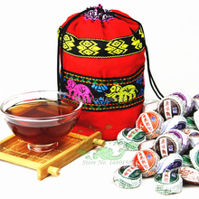 On Sale!!! 10 Kinds Flavor Pu er, Pu'erh tea, Mini Yunnan Puer tea,Chinese tea, With Gift Bag, Free Shipping