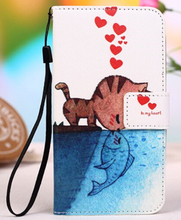ZTE Blade V7 Lite Case PU Stand Wallet Flip Leather Cover Cases V7Lite Phone - Girls-Hua Qiang Bei Brand Products store