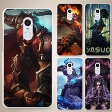 Buy League Legends lol definition Hard White Cell Phone Case Cover Xiaomi Mi Redmi Note 3 3S 4 4A 4C 4S 5 5S Pro for $1.49 in AliExpress store