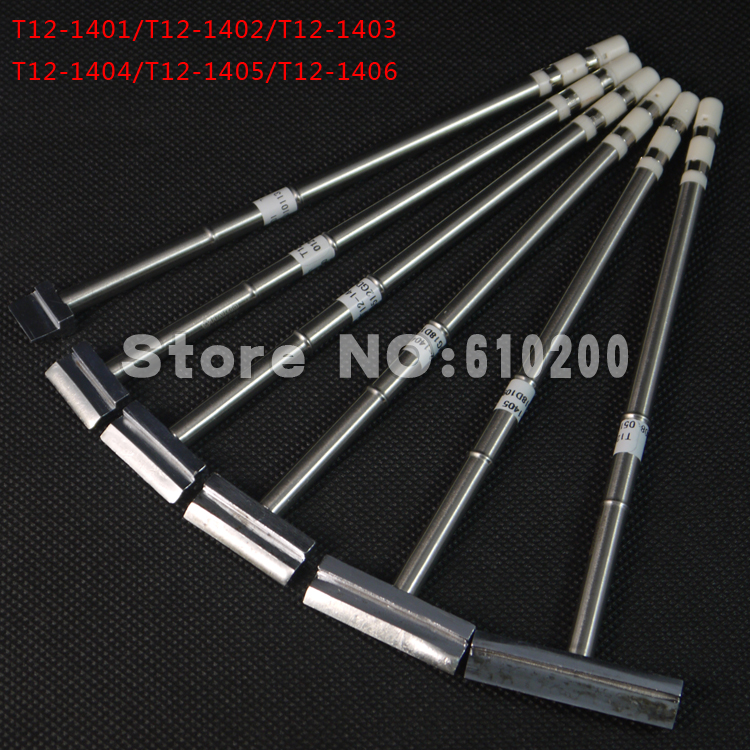6pcs lot soldering iron tip soldering station spade scraper type t12 soldering iron tips t12. Black Bedroom Furniture Sets. Home Design Ideas