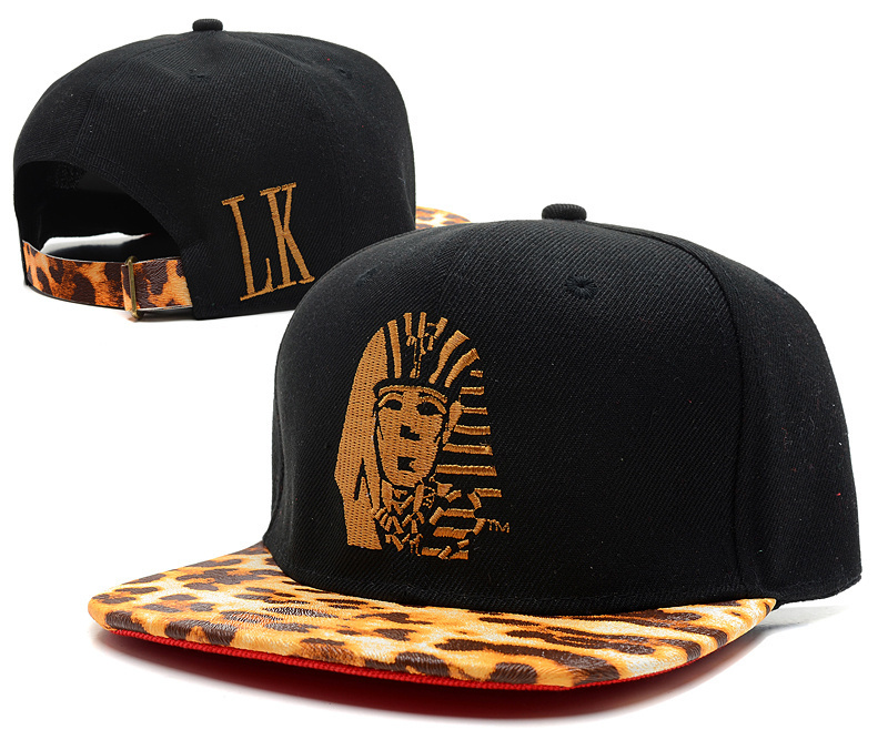 snapback last kings leopard, Hot sale Black and leopard color Last kings LK strapback bones snapback caps & hats free shipping(China (Mainland))