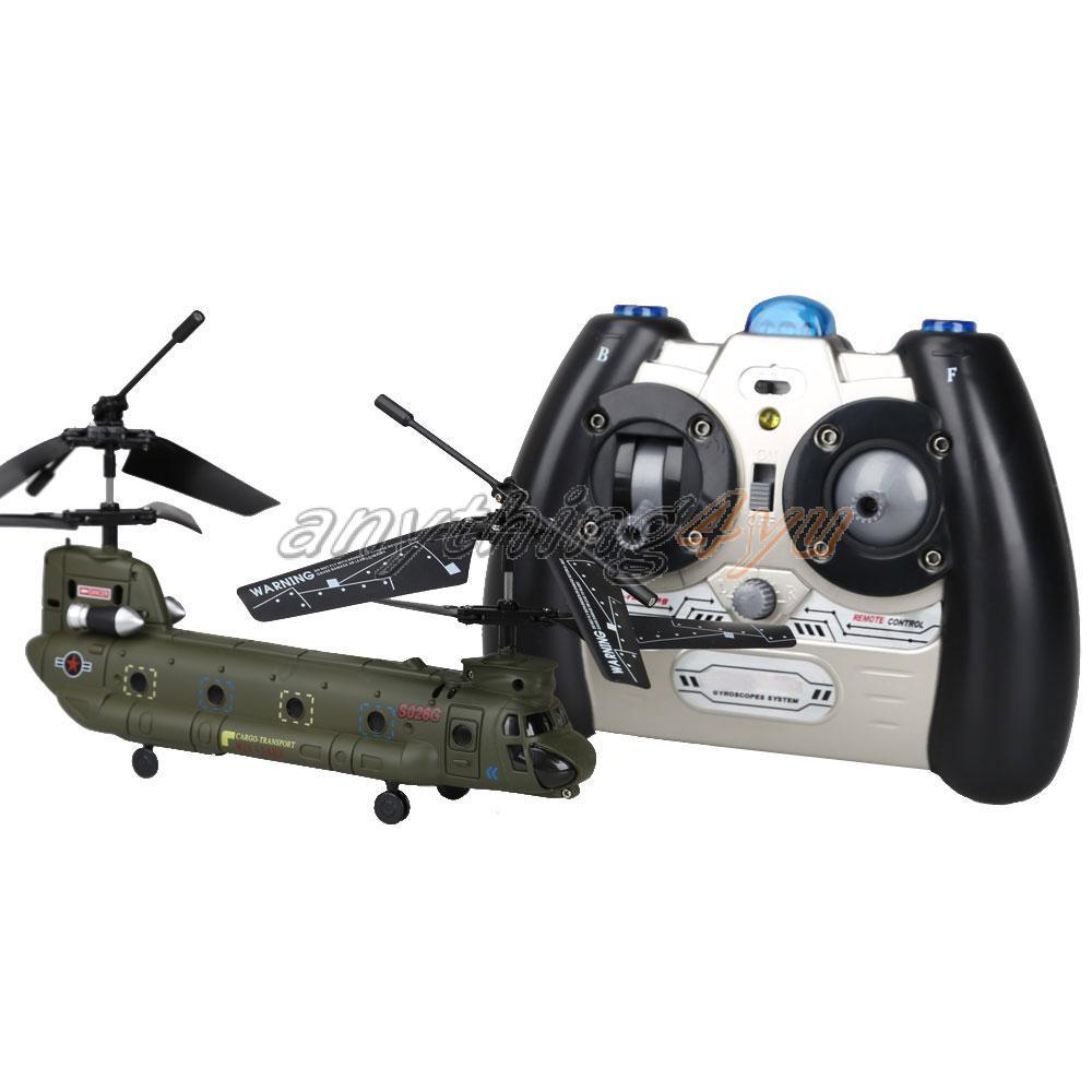 ONLY SYMA S026G 3-CH Mini IR RC Helicopter Gyro Aircraft Model Toy Army Green(China (Mainland))