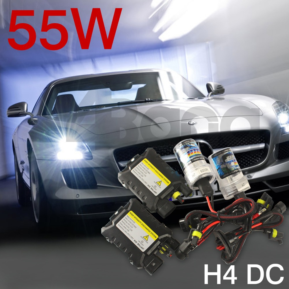Diamond White Headlight LED Fog Lights Blue Xenon HID KIT H1 H4 H7 H11 9005 9006