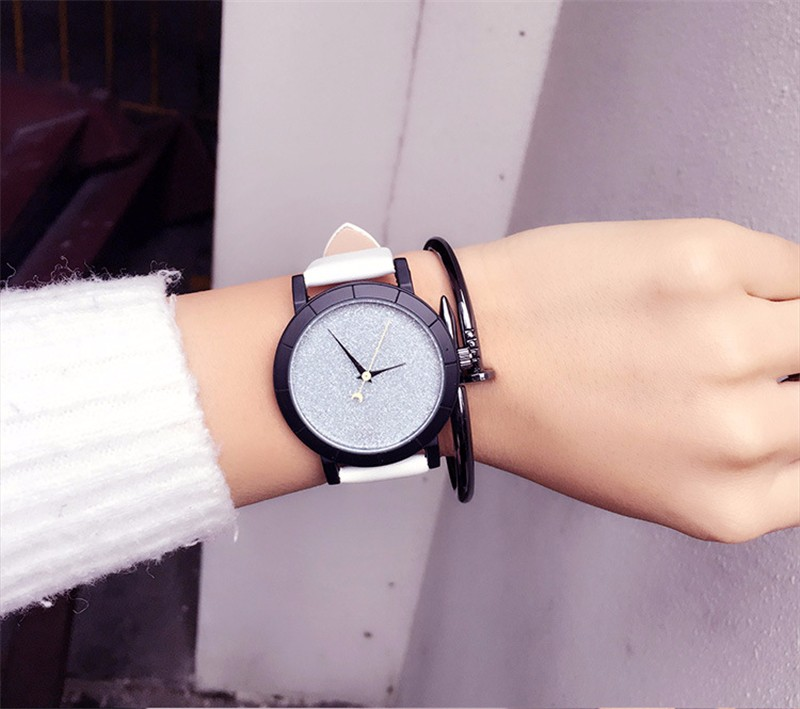 2016 Classic New Fashion Simple Style Top Famous Luxury brand quartz watch Women casual Leather watches hot Clock Reloj mujeres