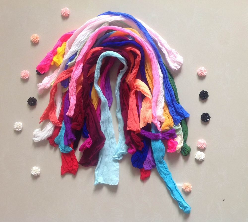 Multicolor Nylon Flower ,Silk Butterfly Stocking Making Accessory Handmade DIY Stocking(50pcs/Lot)(China (Mainland))