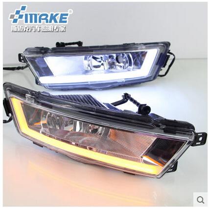 High quality!LED Daytime Running Light DRL Fog light 100%Waterproof fog lamp fit for NEW skoda Rapid 2013- 2015!Free Shipping!<br><br>Aliexpress