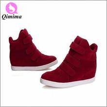 2015 alla moda di modo altezza crescente sneakers donna stivali di lavoro confortevole donna sport scarpe casual HF-1520(China (Mainland))