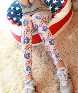 Hot Sale High Elastic Design Vintage Graffiti Leggings Floral Patterned Print Leggings For Women Calzas Sexy Leggins(China (Mainland))