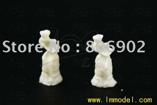 20pcs free shipping 1.3*0.5cm Sculputre MD58 for model train layout, ABS plastic scale sculpture