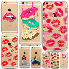 Buy Mobile Phone Case Cover For iPhone 5 5s 6 6S 6Plus 6sPlus 4 4s Dress Shopping Girl Cases Soft TPU Phone Back Skin Cover for $1.34 in AliExpress store