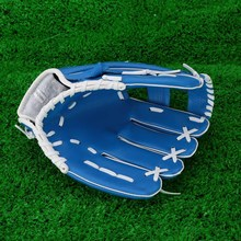 "Professional Baseball Glove Outdoor Sports Baseball Team Exercise Training 10.5"" Baseball Glove Blue Left Hand Softball Gloves(China (Mainland))"