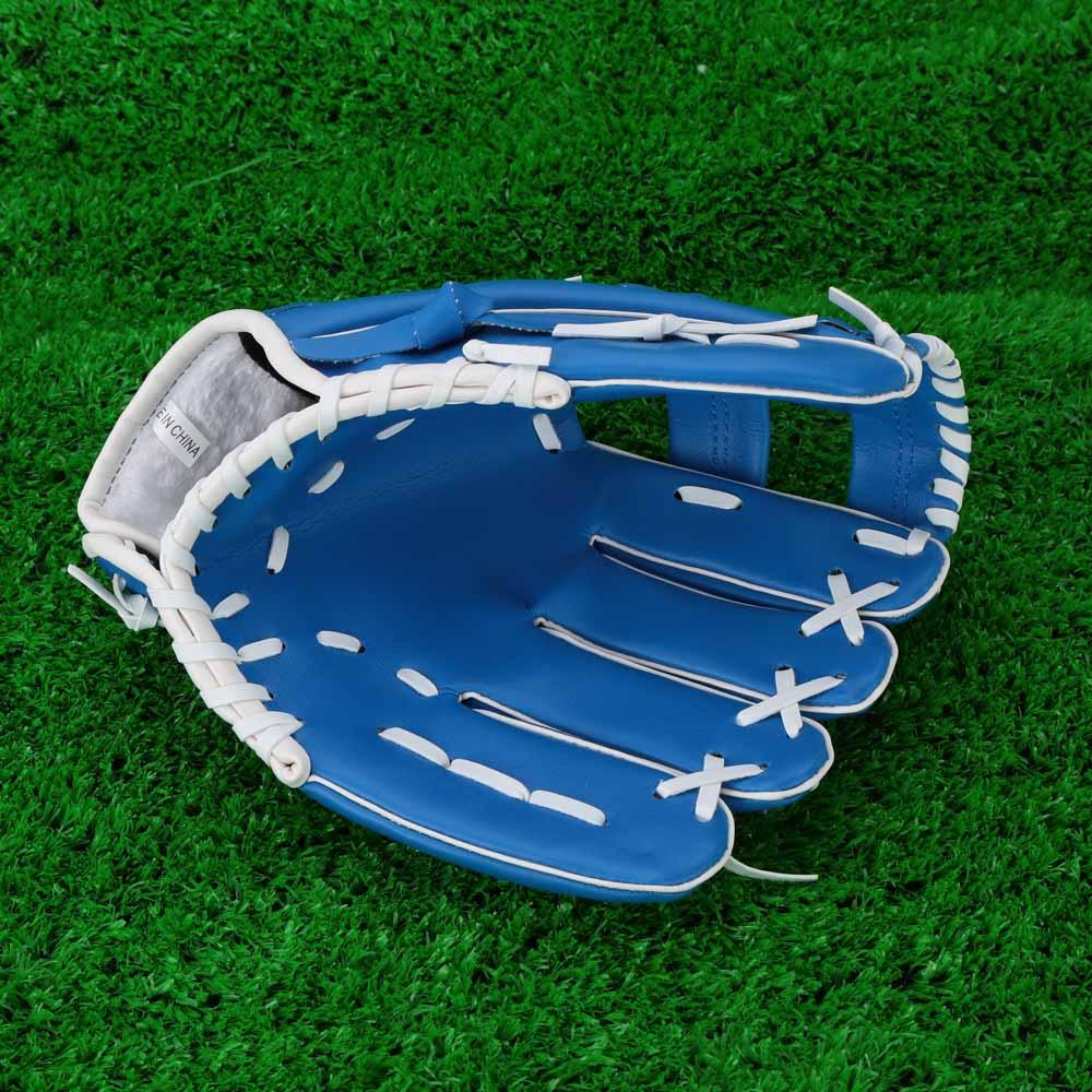 "Professional Baseball Glove Outdoor Sports Baseball Team Exercise Training 10.5"" Baseball Glove Blue Left Hand Softball Gloves(China (Mainland))"