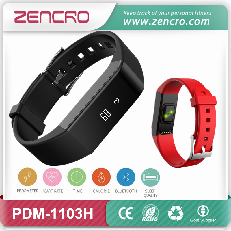 Фотография Wireless Pedometer Bracelet Heartbeat Tracker Pulse Heart Rate Monitoring Wristband for Adults Free Shipping