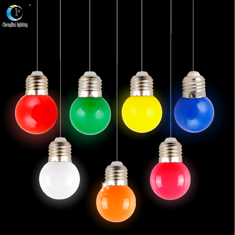 2016 New Color Led Bulb E27 Vintage Light Bulbs Energy Saving Hue Mood Lights Bright Lamps