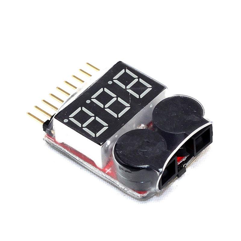 LED Low Voltage Buzzer Alarm Lipo Voltage Indicator Checker Tester TB Sale(China (Mainland))