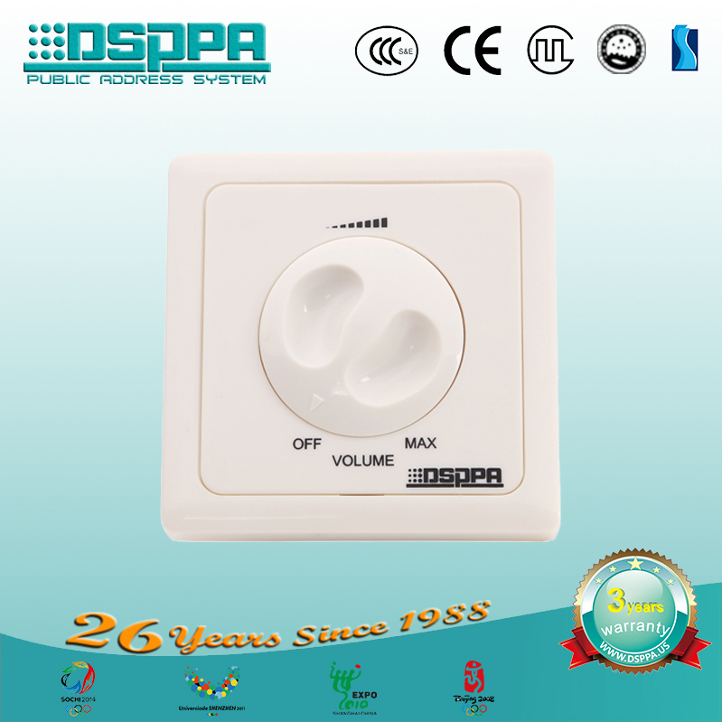 DSPPA 6W ABS PA System/Public Address System Creative Speaker Volume Controller WH-3F(China (Mainland))