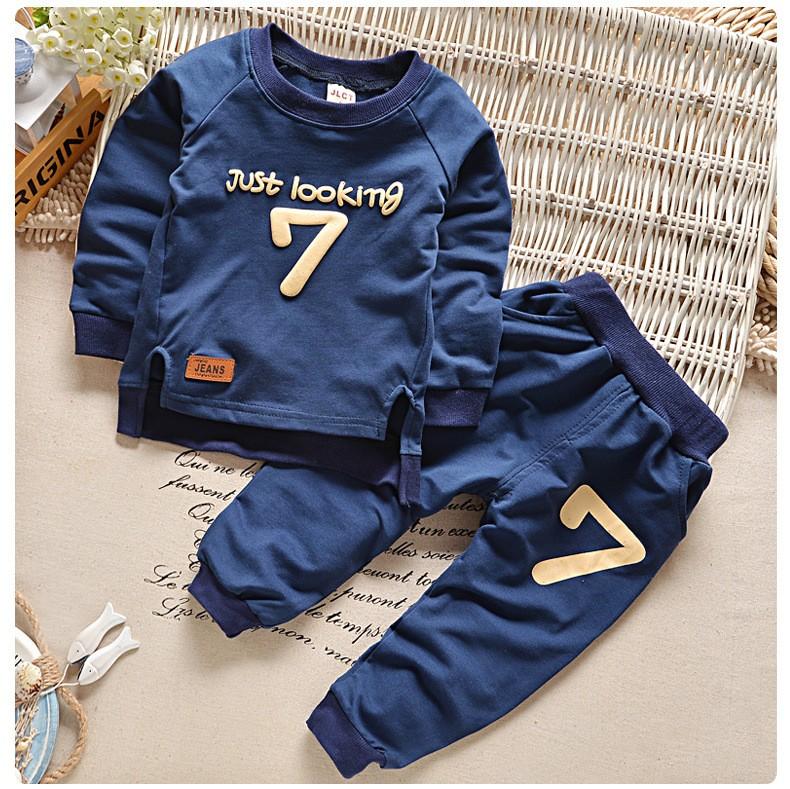 Summer 2017 New Baby Boy Pattern Rabbit Toddler Plaid Kids Clothes Children Clothing Set