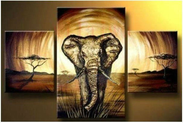 3 panel canvas abstract art pure hand made large oil painting wall decor