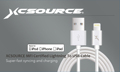 XCSOURCE Hot MFI Certified for Lightning Dock Charger Sync 2M Cable 8pin For Apple iPhone 5