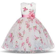 תינוק בנות פסים שמלה עבור בנות פורמליות מסיבת חתונת שמלות ילדים נסיכת חג המולד להתלבש תלבושות ילדי בנות בגדים(China)