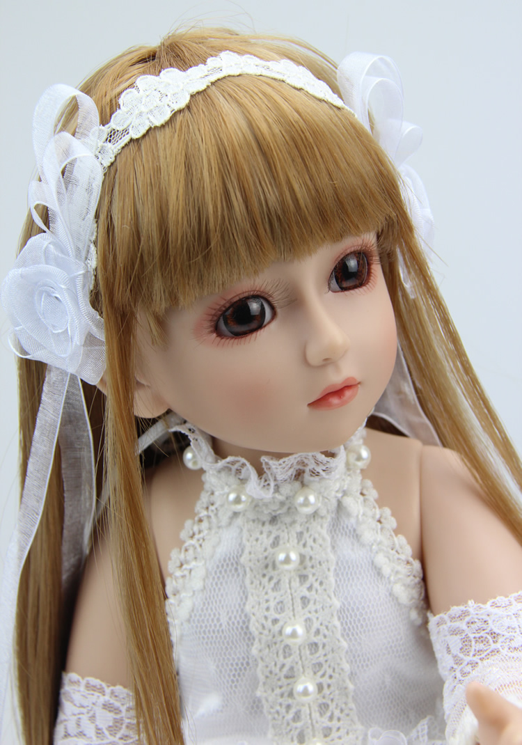 Real Baby Dolls For Sale 1/4 BJD Girl Doll With White ...