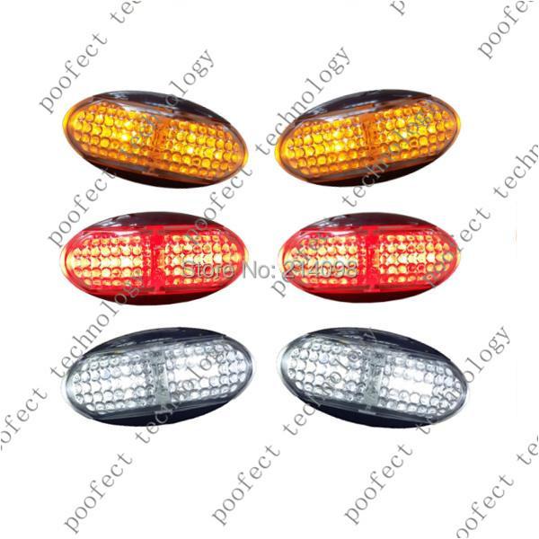 10-30V LED Side Marker Light Clearance Lamp Truck Boat Trailer - Shenzhen Poofect Technology Co., Ltd. store
