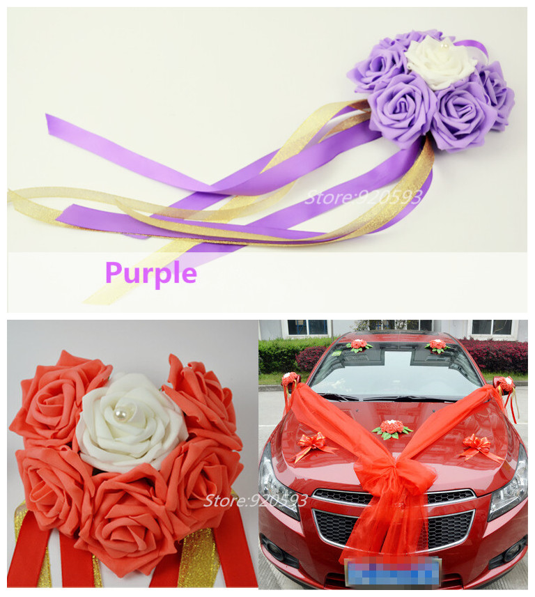 Buy 1pcs love foam artificial rose flower for Angela florist decoration