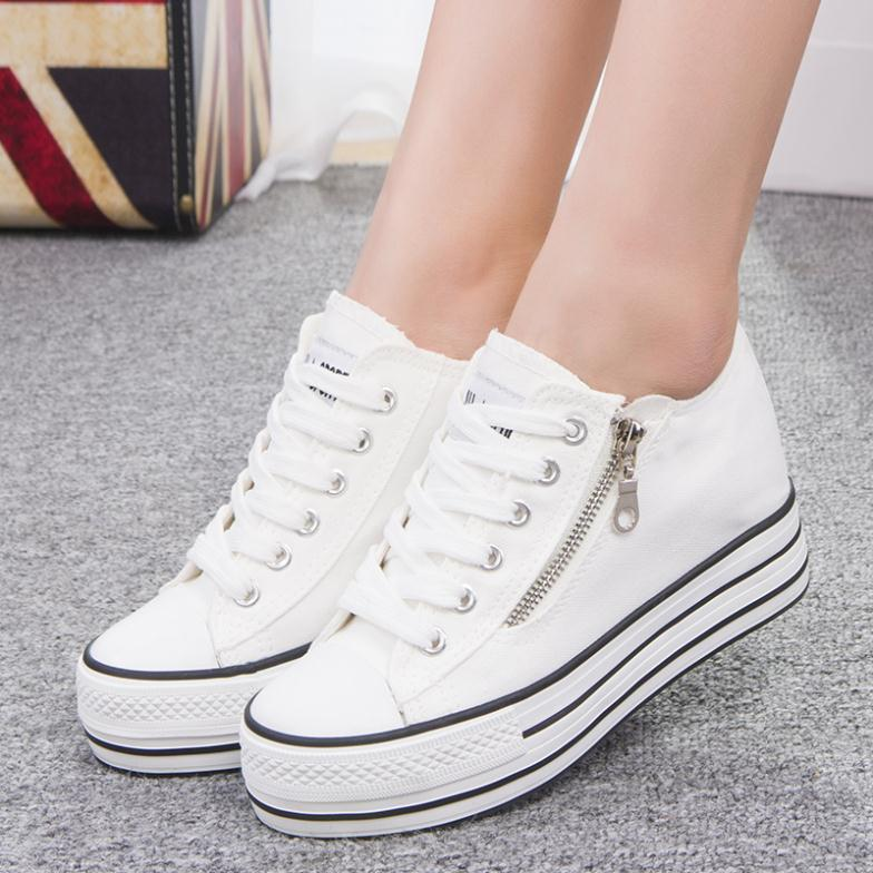 Original Korean Shoes Women Student Shoes Leisure Singles Shoes Running Shoes