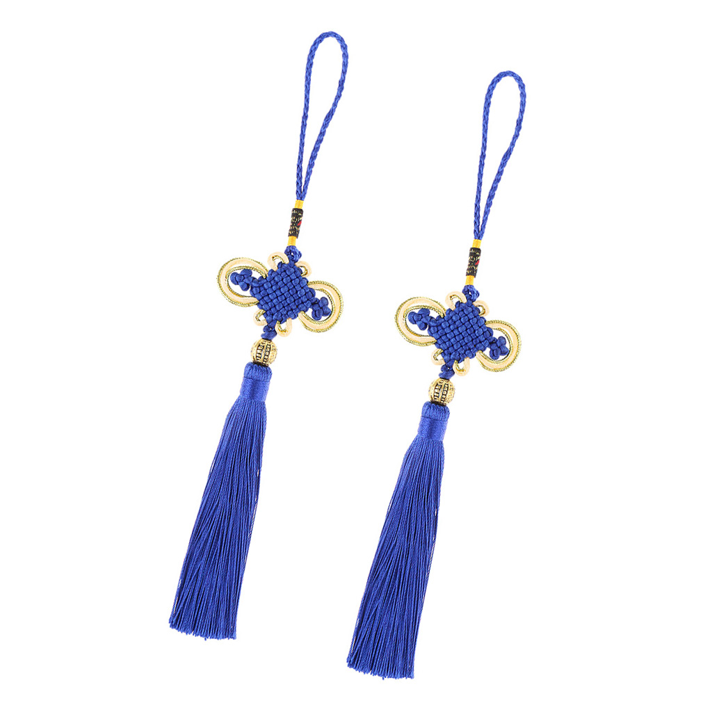 2Pcs Feng Shui Chinese Knot to Attract Wealth Health Success Lucky for Home Decor