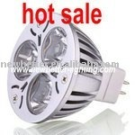 High power LED Light bulbs 3*1W, CE and RoHS, free shipping,nature white,45 degree
