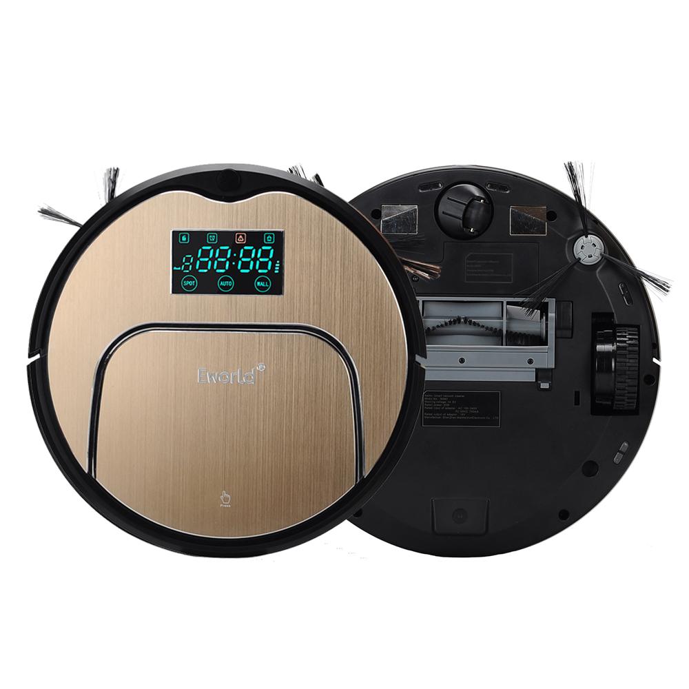 Eworld New Design M883 Robot Aspirador Vacuum Cleaner 12 Sets Senser Automatic Auto Robotic Sweeper House Floor Cleaning Machine(China (Mainland))