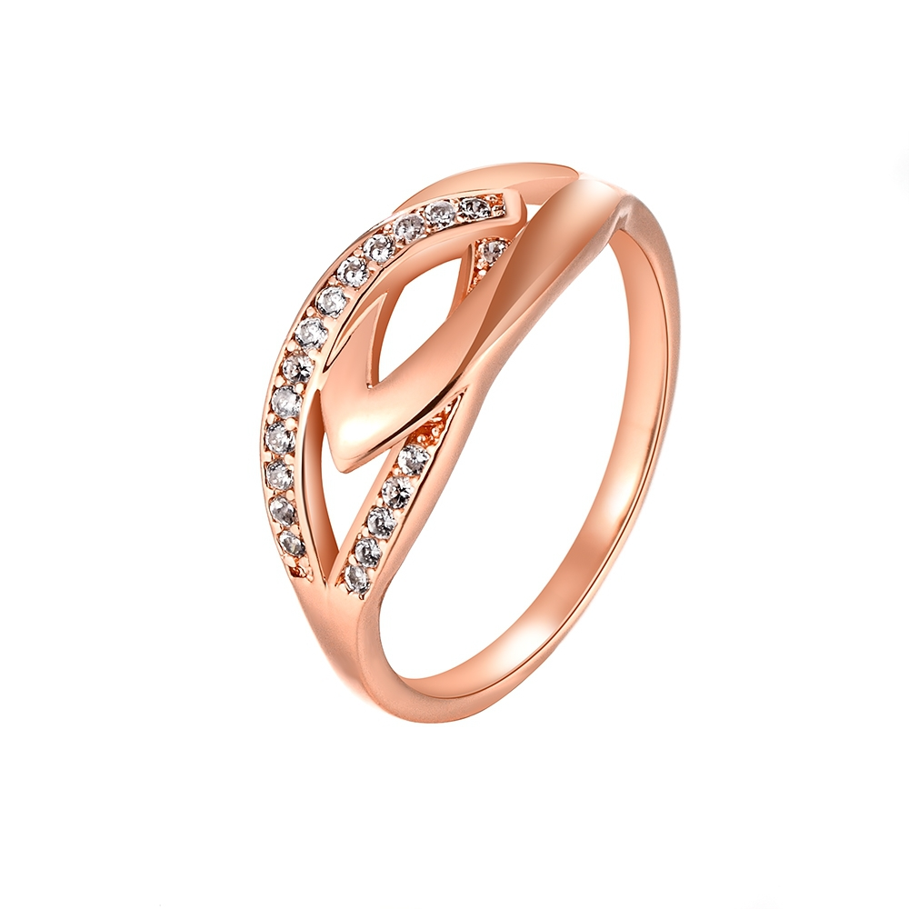 Aliexpress Buy Rings for Women Rose Gold Jewellery Engagement White Sim
