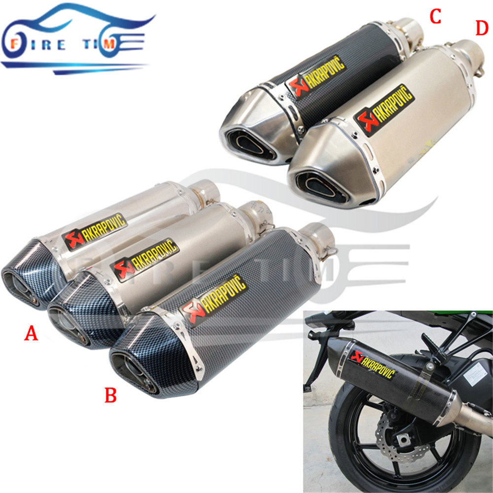 51mm new style motorcycle accessories alloy exhaust pipe motorbike muffler pipe For GY6 125cc 150cc 152QMI 157QMJ + db killers<br><br>Aliexpress