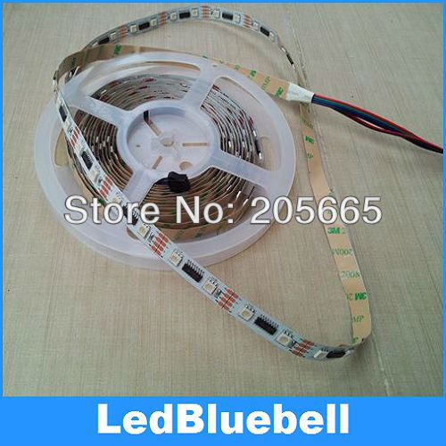10M 2x5M 5050 RGB Dream Color change LPD8806 LED Digital Strip light Non-Waterproof DC5V Input - Bluebell Lighting store