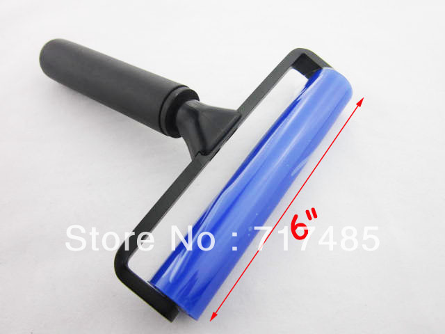 """Manual Cleaner Tool 6"""" Long Anti-static Sticky Silicone Roller"""