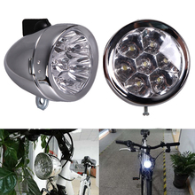 Buy Best Deal Bicycle Light Bike Accessory Bicicleta Front Light Bracket Vintage 7LED Headlight luces led bicicleta for $7.25 in AliExpress store