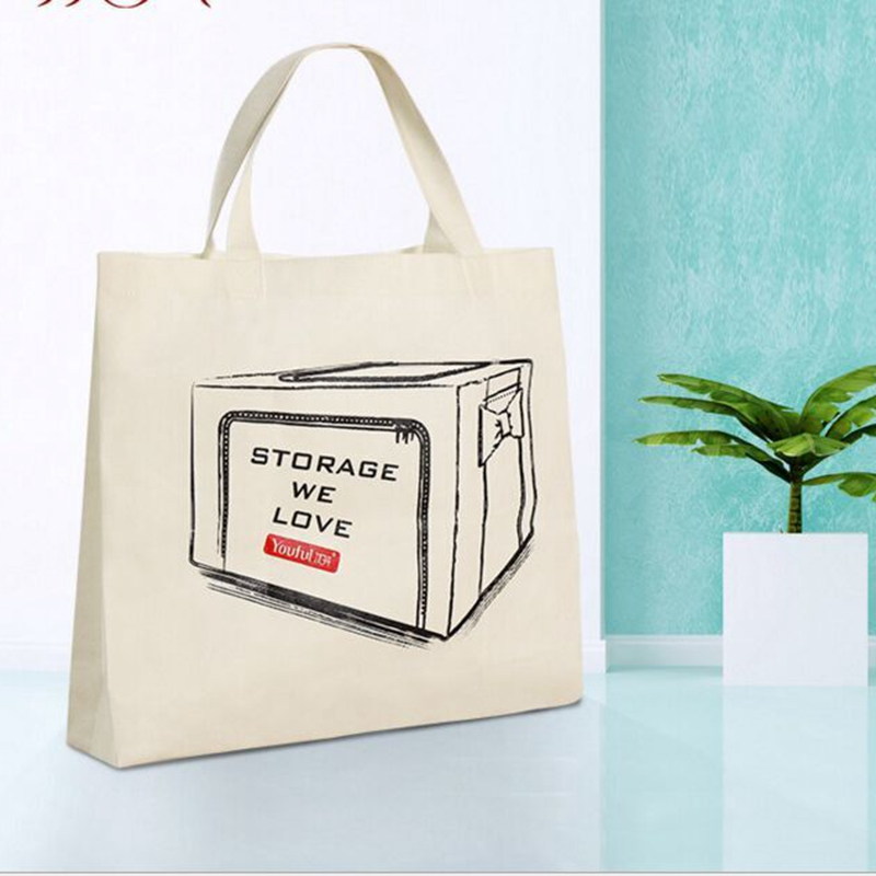 2016 Large reusable grocery tote bag big foldable shopping bag canvas cotton ecobag Creative Foldable Pouch Laundry bag(China (Mainland))