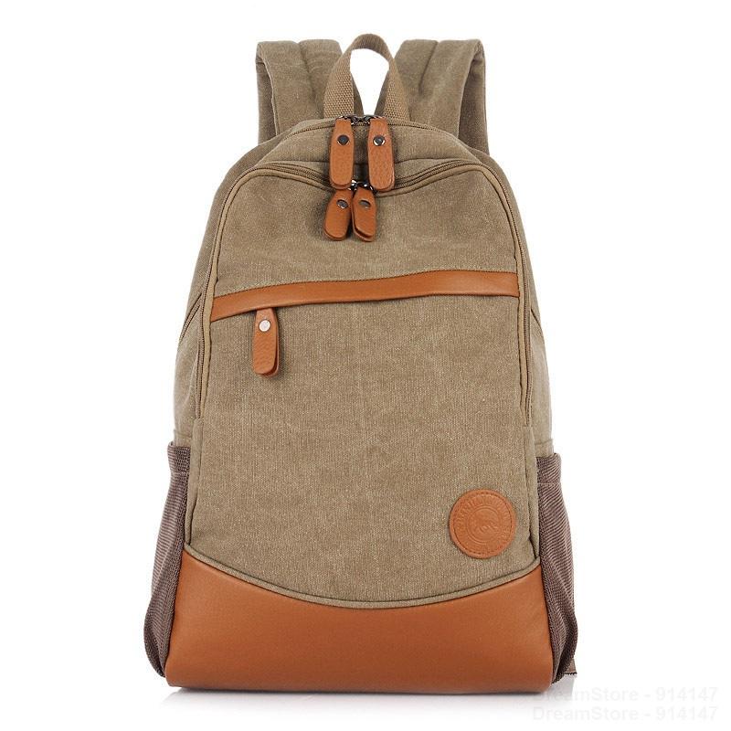 New Fashion Vintage Men's Backpacks Women Canvas Shoulder Bags Backpack Schoolbag Travel Bags Mochila for Teenagers