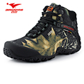 New waterproof canvas hiking shoes boots Anti skid Wear resistant breathable fishing shoes climbing high shoes