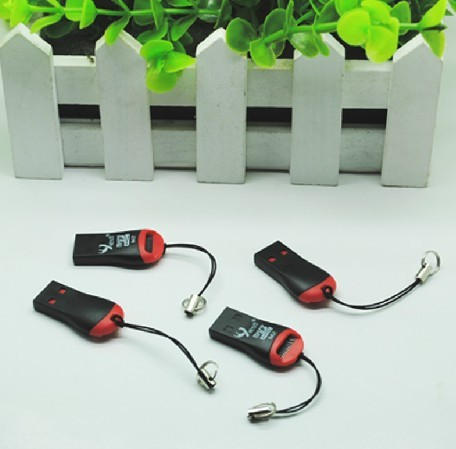 Whistle reader TF card Mini-SD Card Reader USB 2/ lot - Shenzhen leinuo electronics co store