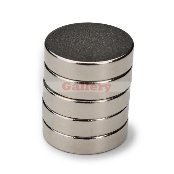 2015 Direct Selling Rushed Iman Neodimio Atacado 15 Pcs 20x5mm N50 Strong Rare Earth Ndfeb Neodymium Disc Magnets <br><br>Aliexpress