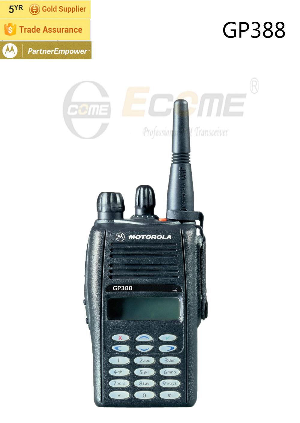 Motorola Two Way Intercom GP388 Walkie Talkie for Group Talking(China (Mainland))