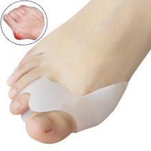 Гаджет  Genuine new special hallux valgus bicyclic thumb orthopedic braces to correct daily silicone toe big bone None Красота и здоровье