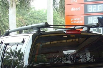 NISSAN NAVARA D40 DOUBLCE CAP SINGLE CAB ROOF RACK OEM DESIGN FOR ASIA COUNTRY
