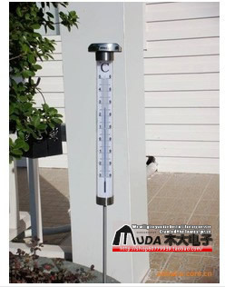 Thermometer light garden lights lawn lamp led , outdoor thermometer , garden lights lamp n5