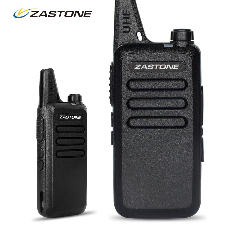 2pcs Zastone ZT-X6 Professional Handheld Portable Radios Cheap Walkie Talkies 400-470Mhz UHF Two Way Ham Radio Comunicador(China (Mainland))