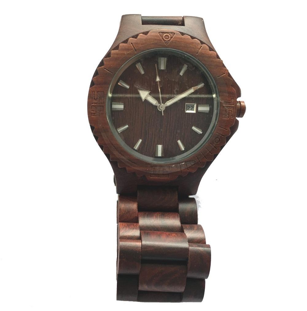 Fashion Men Women Lover Wooden Watches Mens Luxury Calendar Watch Japan Movement Wood Wristwatches - ShenZhen GlobalPower Industry Co., LTD. store